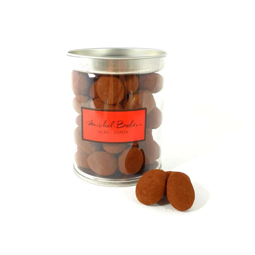 Amandes Gianduja poudrées de cacao 170gr