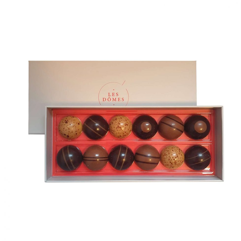 Image Boite Dômes Chocolats Michel Belin