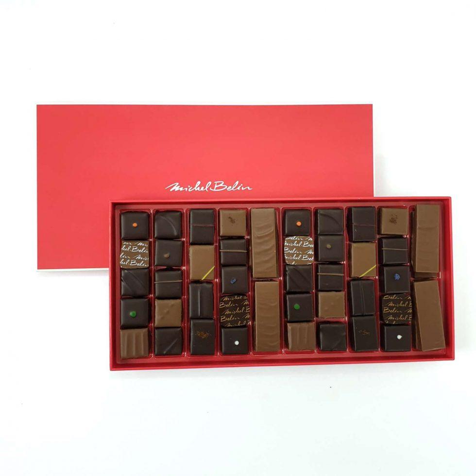 Image Boîte de chocolats 350g Michel Belin