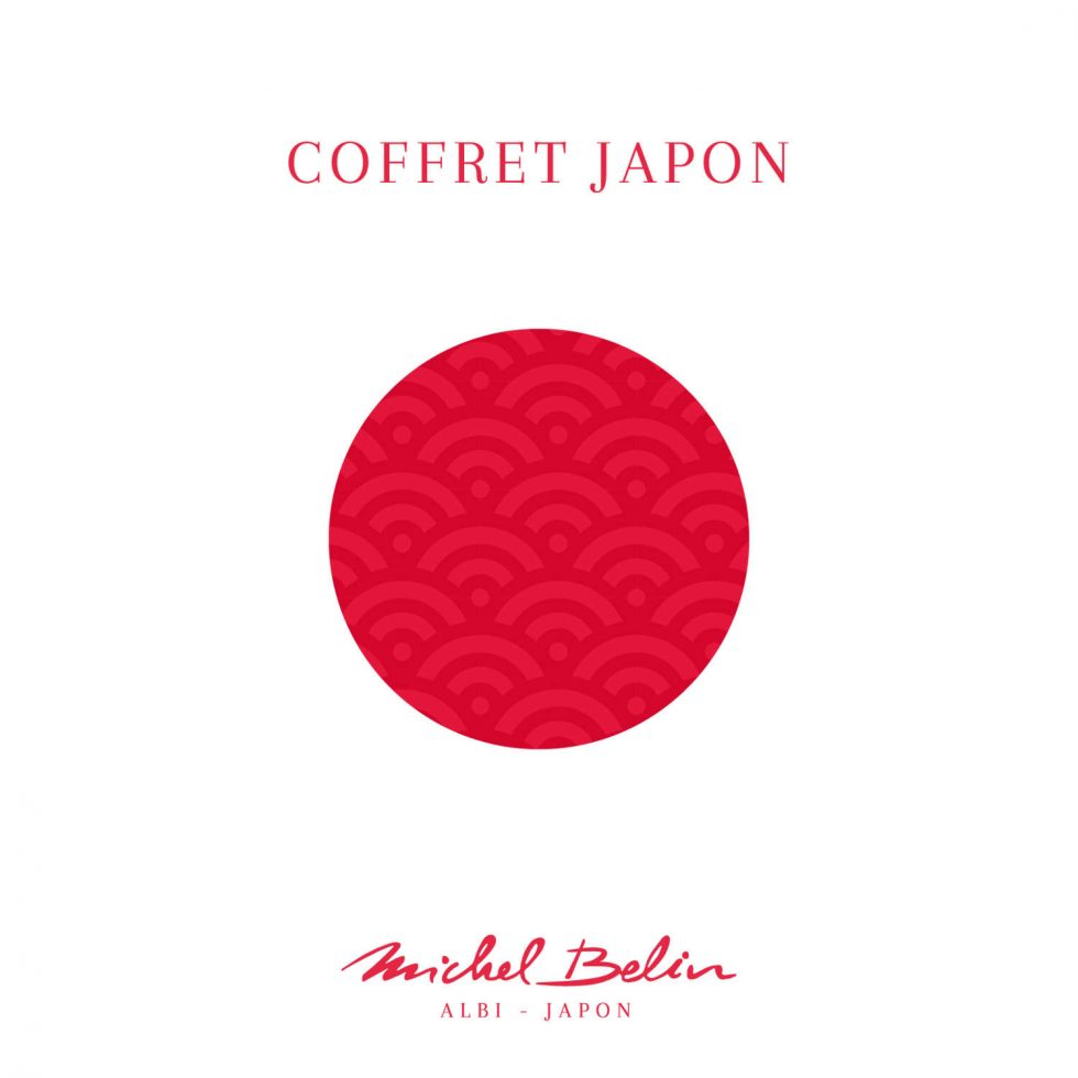 Coffret de chocolats spécial japon Michel Belin