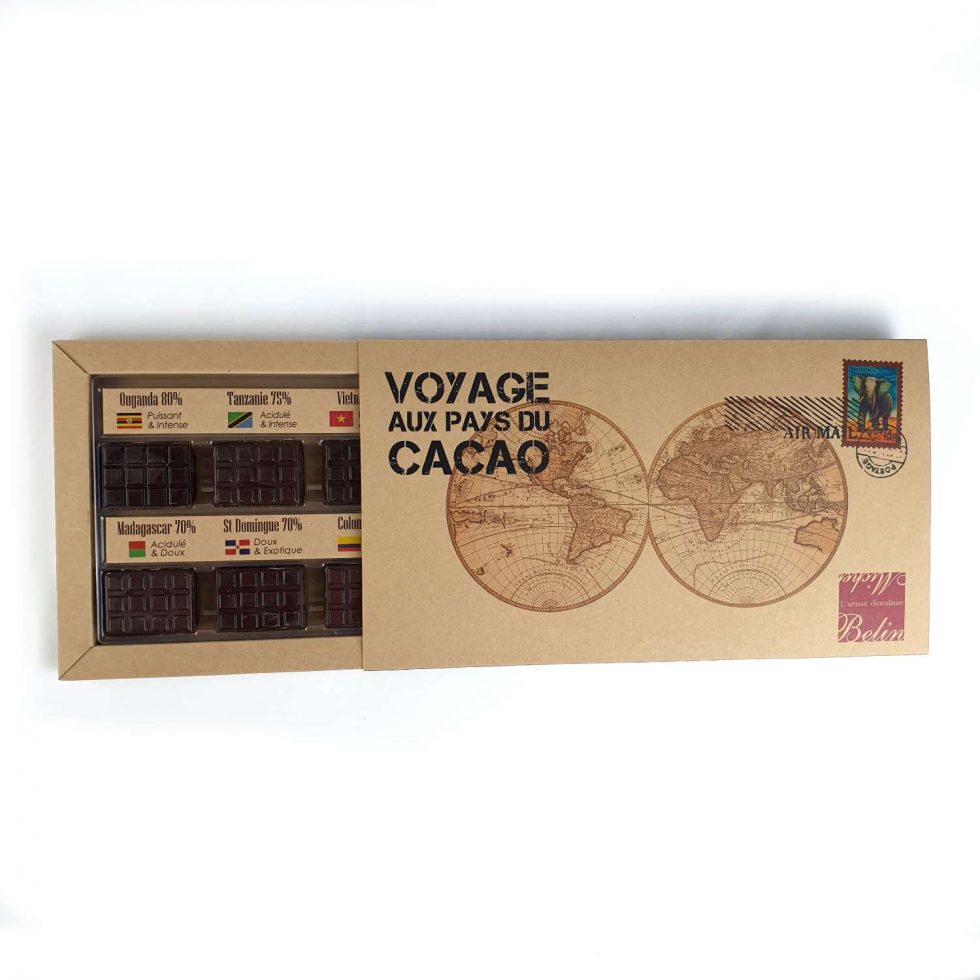 Image Boîte Voyage aux pays du Cacao Michel Belin