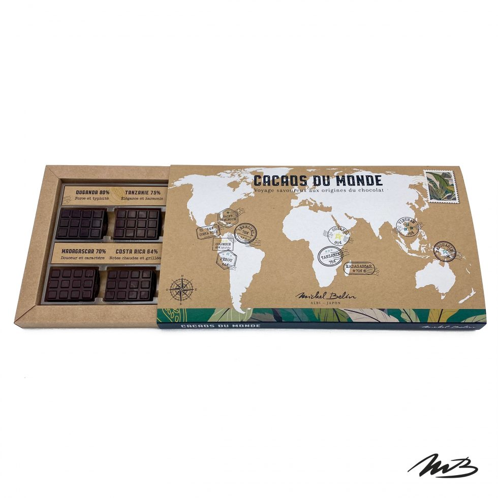 Cacaos du Monde - Chocolat Michel Belin Albi
