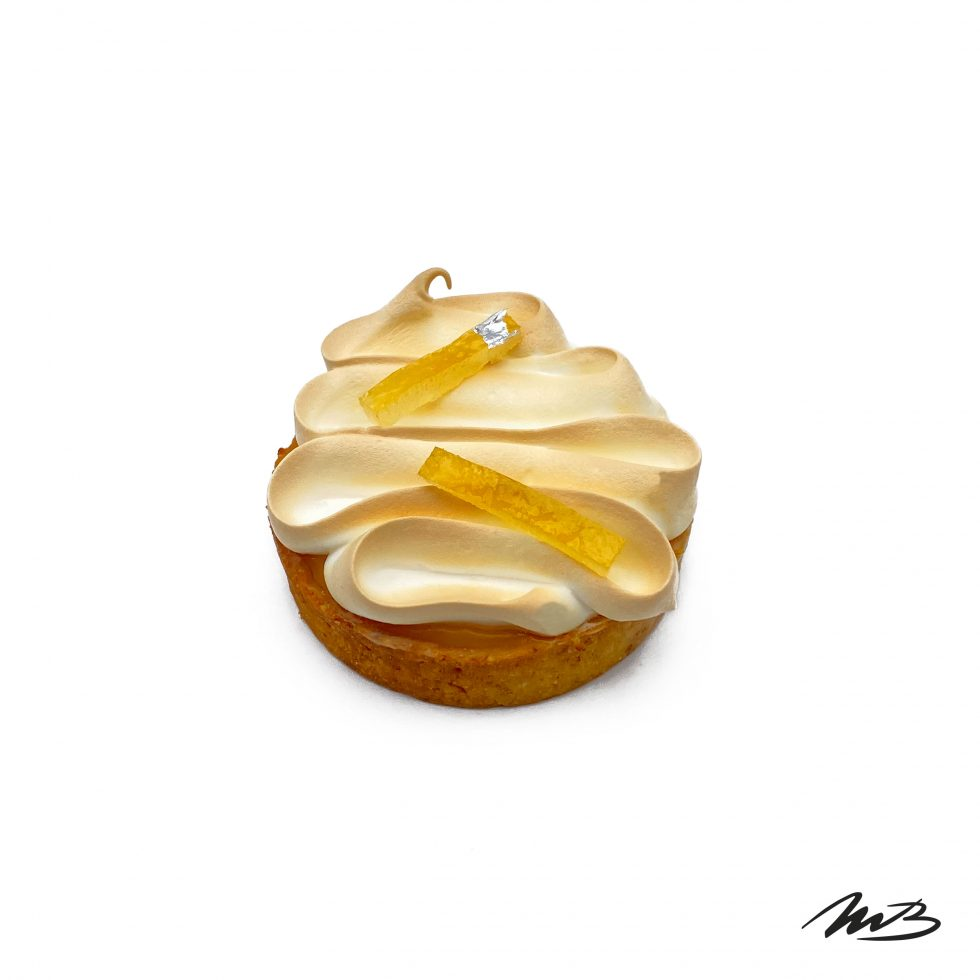 Tartelette Citron - Pâtisserie Michel Belin Albi
