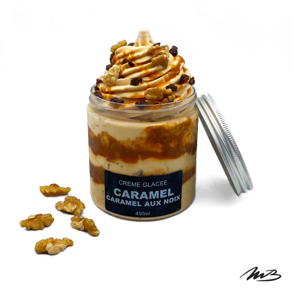 Michel Belin Albi - Glace Artisanale Caramel aux Noix