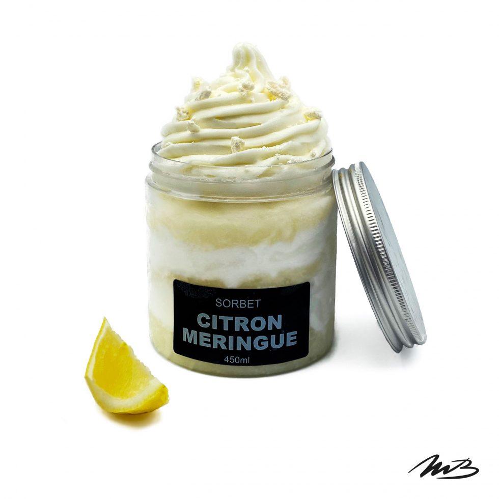 Michel Belin Albi - Glace Artisanale Citron Meringué
